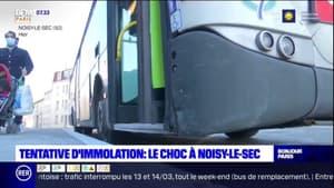 Tentative d'immolation dans un bus: le choc à Noisy-le-Sec