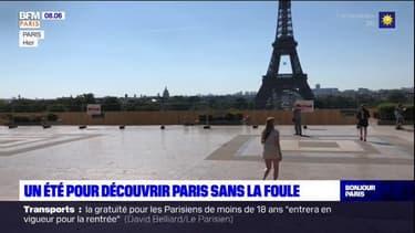 Pas de file d'attente, pas de foule... l'été idéal pour découvrir Paris?