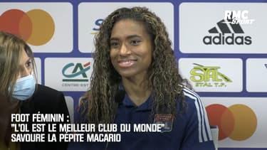 """OL (F): La pépite Macario heureuse de rejoindre """"le meilleur club du monde"""""""