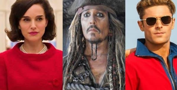"""""""Jackie"""", Pirates des Caraïbes: la vengeance de Salazar"""", """"Baywatch"""", """"Wonder Woman"""" et """"Valérian et la cité des mille planètes"""" sortiront tous en 2017"""