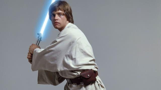 Mark Hamill dans la peau de Luke Skywalker