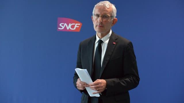 Guillaume Pépy, le président du directoire de la SNCF