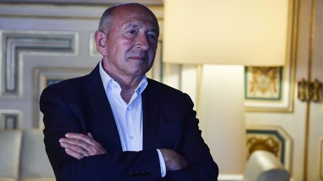 Gérard Collomb, maire sortant de Lyon, le 28 juin 2020
