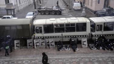 L'Ukraine fait actuellement face à de violents affrontements entre policiers et manifestants.