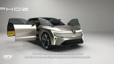 Renault présente Morphoz, un concept car extensible