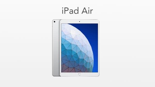 L'iPad Air d'Apple, sorti en 2019
