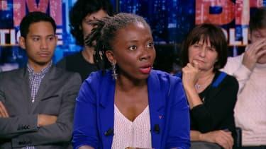 Danièle Obono sur BFMTV, le 1er octobre 2017.