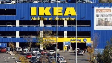 Le chiffre d'affaires d'Ikea stagne en France.