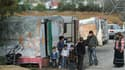 A Montévrain, des dizinaes de familles roms ont bloqué la ville faute d'emplacement.