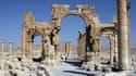 Le célèbre Arc de triomphe de Palmyre n'est plus. Il a été détruit par Daesh.