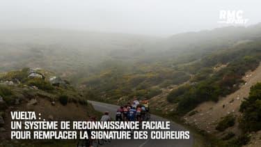 Vuelta : Un système de reconnaissance faciale pour remplacer la signature des coureurs