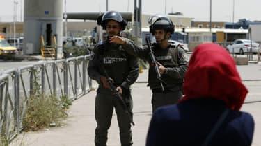 Des policiers israéliens à Jérusalem (photo d'illustration)