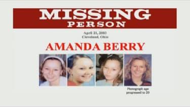 Amanda Berry ainsi que deux autres jeunes femmes a été séquestrée pendant plus de dix ans.