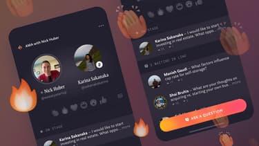 Capture d'écran de l'application Hotline, de Facebook