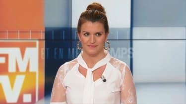 Marlène Schiappa invitée sur le plateau de BFMTV le 31 mars 2019