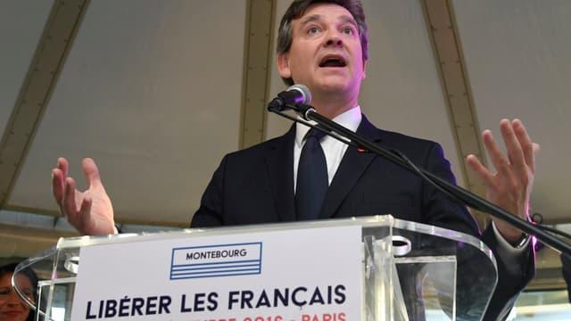 Arnaud Montebourg est désormais candidat à la primaire de la gauche.