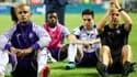 Kompany, Nasri et les joueurs d'Anderlecht