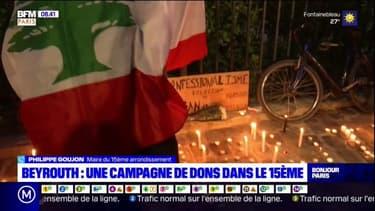 Liban: le maire du 15e arrondissement de Paris lance un campagne de dons