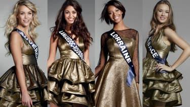 Quatre prétendantes au titre de Miss France 2017