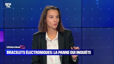 """Emmanuelle Masson sur la panne des bracelets électroniques : """"Environ la moitié des dispositifs ne fonctionnaient plus"""" - 26/10"""