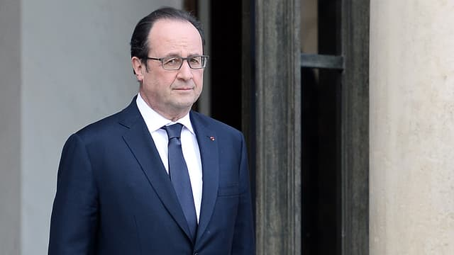 François Hollande, le 26 avril 2016.