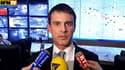 """Le ministre de l'Intérieur, Manuel Valls, répondant aux critiques sur l'usage des gaz lacrymogènes lors de la """"Manif pour tous"""", le 24 mars 2013"""