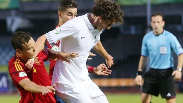 Adrien Rabiot et les Bleuets en finale de l'Euro U19
