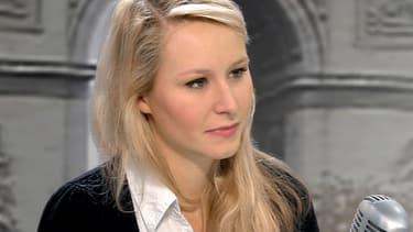 Marion Maréchal-Le Pen, en direct mardi matin sur BFMTV et sur RMC.