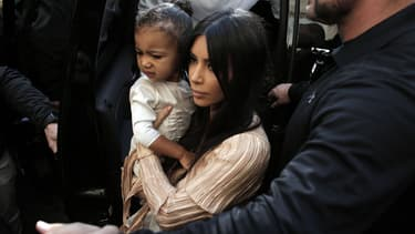 Kim Kardashian et sa fille North West en Arménie en avril 2015