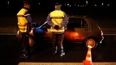 Un contrôle routier le 31 janvier 2013 (illustration)
