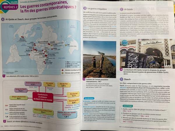 Le manuel d'HGGSP de terminale, Hachette