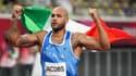 Lamont Marcell Jacobs, titré sur le 100m des JO de Tokyo