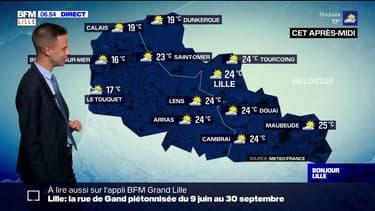 Météo Nord-Pas-de-Calais: le soleil au rendez-vous et des températures agréables