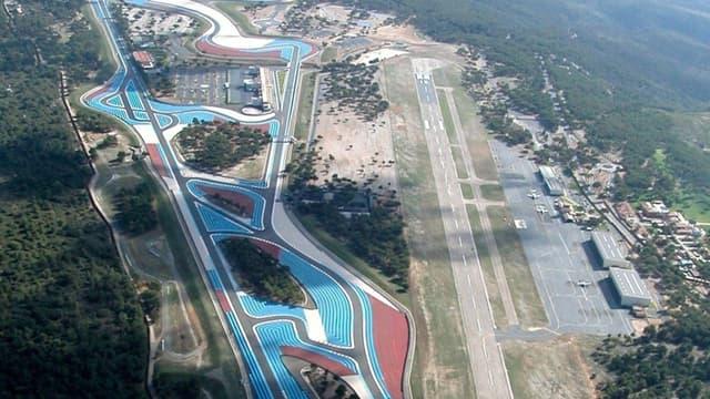 Le circuit du Castellet (Var)