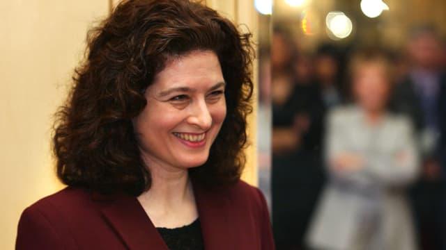 Ursula Gauthier en 2003 à Paris.