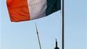 A Dublin. Près de sept mois après la Grèce, l'Union européenne doit annoncer cet après-midi un plan d'aide de 85 milliards d'euros à l'Irlande afin de soutenir le pays plombé par son secteur bancaire et freiner la contagion dans la zone euro. /Photo prise