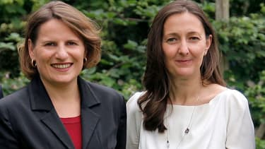 Valérie Rabault et Karine Berger