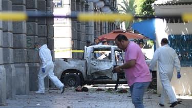 Une explosion s'est produite à Tunis ce jeudi en fin de matinée. - Fethi Belaïd - AFP