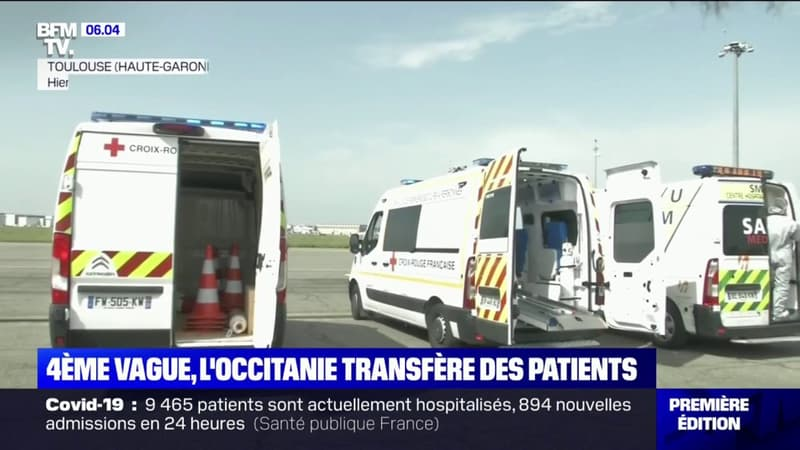L'Occitanie transfère des patients Covid-19 vers des régions moins touchées