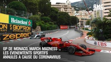 GP de Monaco, March Madness ... Les événements annulés à cause du coronavirus