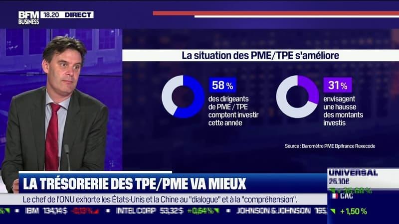 La trésorerie des TPE/PME va mieux