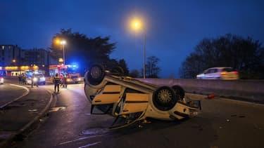 Forte hausse du nombre d'accidents de la route