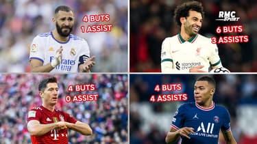 Ballon d'Or : Benzema, Salah, Mbappé... Les buteurs à la fête depuis l'annonce des nommés