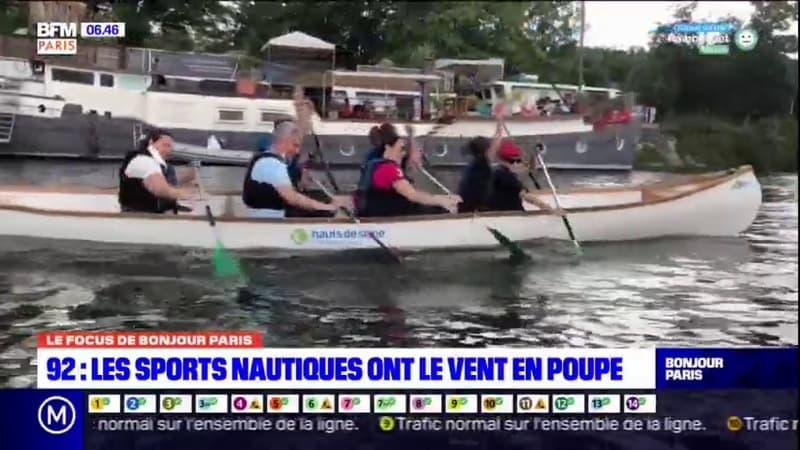 Hauts-de-Seine: les Franciliens peuvent s'initier aux sports nautiques sur l'Île de Monsieur de Sèvres