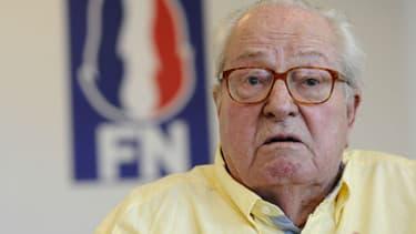 Jean-Marie Le Pen - FRANCK PENNANT / AFP