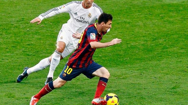 Cristiano Ronaldo et Lionel Messi
