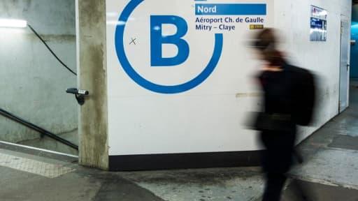 Le RER B - Image d'illustration