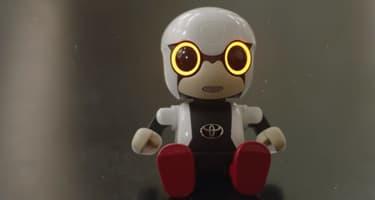 Kirobo Mini, le robot compagnon de Toyota.