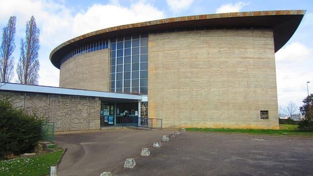 L'Eglise Saint-François d'Assise, à Vandoeuvre près de Nancy, mise en vente en 2013