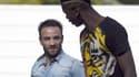 Mathieu Valbuena et Paul Pogba